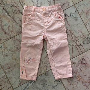 (4 for $20) Joe Fresh Pink Pants for 18-24m